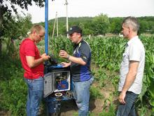 Onsite images from the Groundwater field survey in Moldova 20-24 June 2016