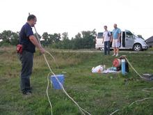 Preparing to measure groundwater field parameters