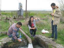 Groundwater Joint Field Surveys Armenia