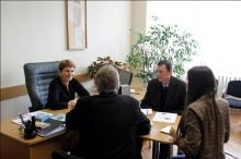 Deputy minister of environment Valentina Țapiș met with international expert Paul Buijs