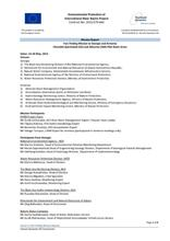Annex 5.4:  Fact Finding Mission to Georgia and Armenia Chorokhi-Ajaristskali (GE) and Akhurian (AM) Pilot Basin Areas