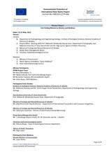 Annex 5.1: Fact Finding Mission to Ukraine and Moldova
