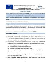 Annex 4: Relationship with the ICPDR - Technical Information Workshop
