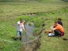 Joint Field Survey monitoring mission for surface water bodies, Prut basin