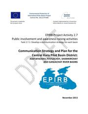 Annex 2.7.1: Communication Strategy and Plan for Central Kura Pilot Basin District