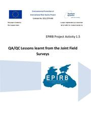 Annex 2: QA/QC Lessons learnt from the Joint Field Surveys
