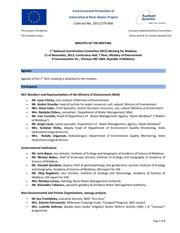 1st National Coordination Committee Meeting for Moldova 12 November, 2013