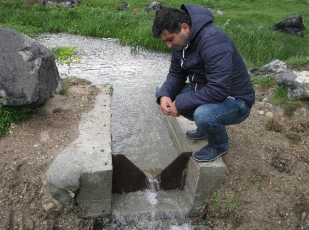 Photo from the Groundwater field survey in Akhuryan river basin