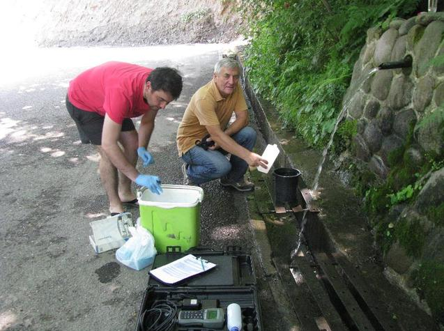 Onsite images from the Groundwater field survey in Georgia 14-16 June 2016