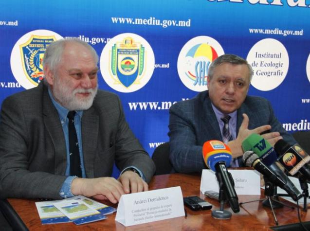 Press Conference in Moldova