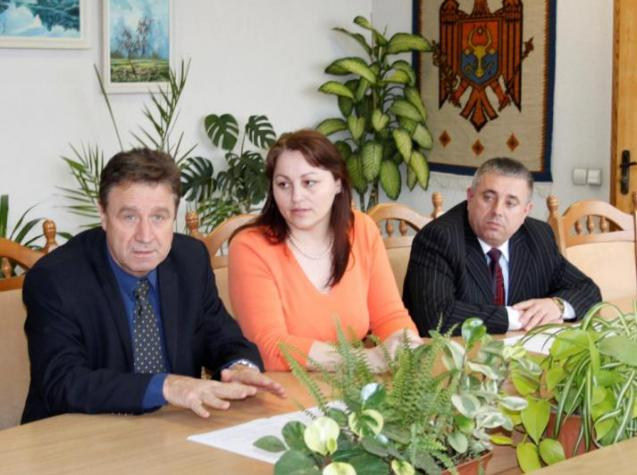 Meeting with the Environment Minister George Şalaru